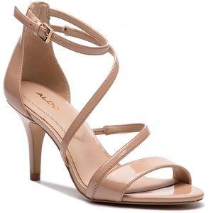 Aldo Onalinia Nude High Heels Sandals
